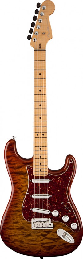 Fender Stratocaster® Quilt Maple Top Artisan Custom Shop