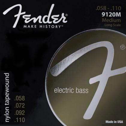 Fender Set 4 Cuerdas Entorchadas Nylon (.058-.110)