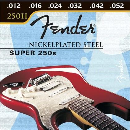 Fender Set Cuerdas Acero Niquelado (.012-.052)