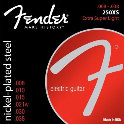 Fender Set Cuerdas Acero Niquelado (.008-.038)