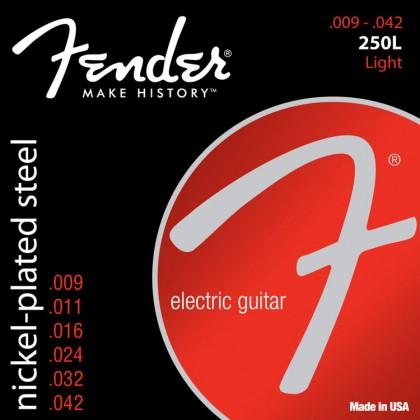 Fender Set Cuerdas Acero Niquelado (.009-.042)