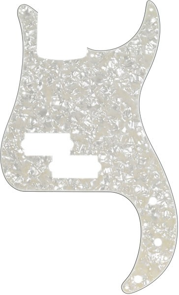 Fender Golpeador Nácar Blanco 13 Agujeros para Precision Bass®