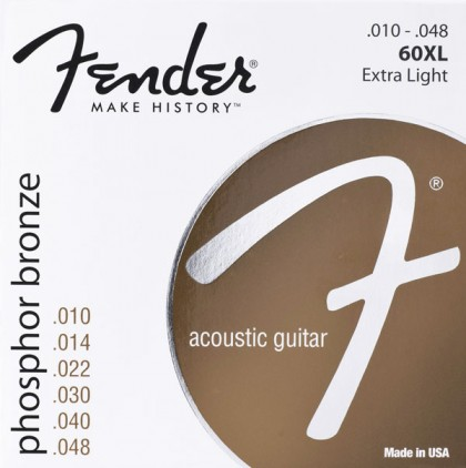 Fender Set Cuerdas Phosphor Bronze (.010-.048)