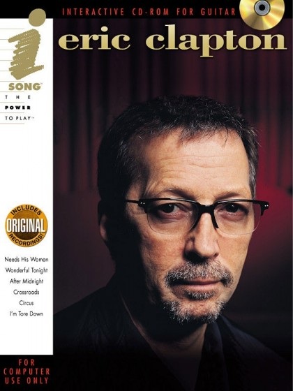 "CD-ROM ""Eric Clapton Interactive CD-ROM for Guitar"""