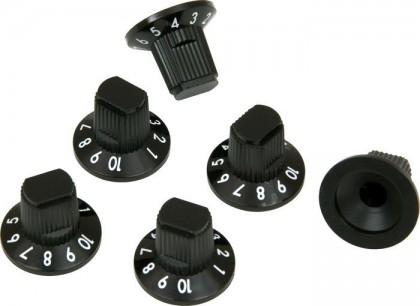 Fender Set de 6 Perillas Numeradas Roc Pro para Amplificador