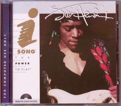 "CD-ROM ""Jimi Hendrix Interactive CD-ROM for Guitar"""