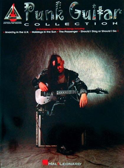 """Libro """"Punk Guitar Collection"""" (Colección de Guitarra Punk)"""