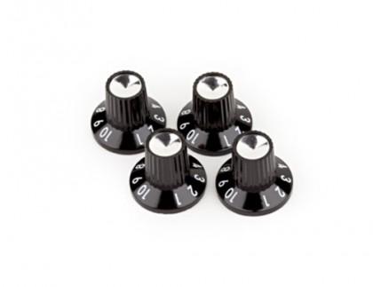 Fender Set de 4 Perillas Numeradas para Amplificador