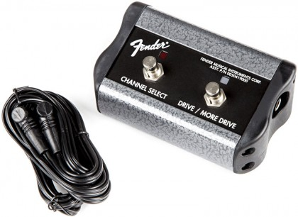 Fender Pedal Switch Doble de 3 Funciones