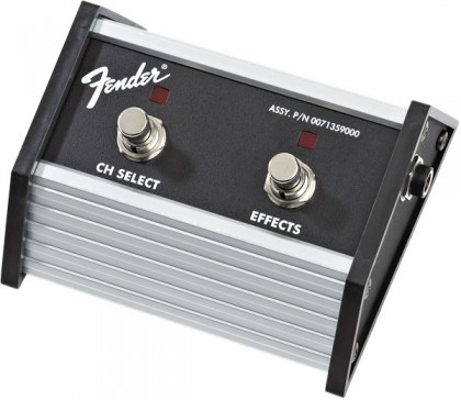 Fender Pedal Switch 2 Botones Channel Select / Effects On-Off