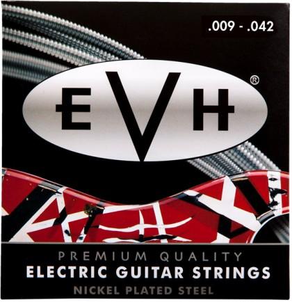 EVH Set Cuerdas Premium Acero Niquelado (.009-.042)