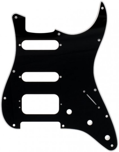 Fender Golpeador de 11 Agujeros para Stratocaster® HSS - Black