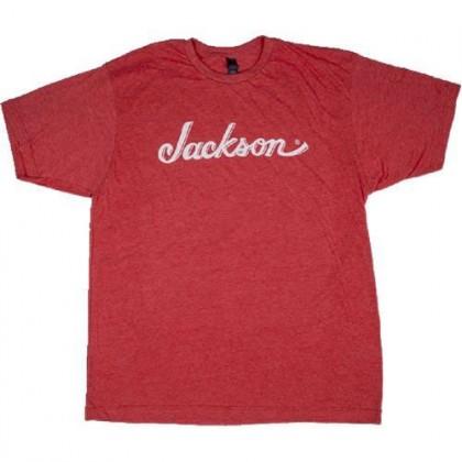 Jackson Polera Roja con Logo - Talla L