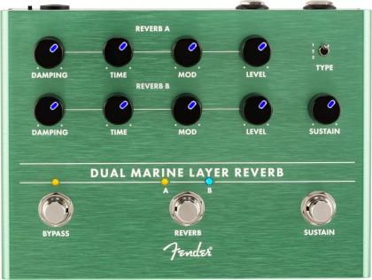 Fender Pedal Efecto Dual Marine Layer Reverb