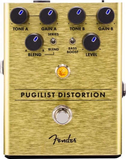 Fender Pedal Efecto Pugilist Distortion