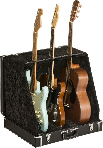 Fender Atril tipo Estuche para 3 Guitarras/Bajos