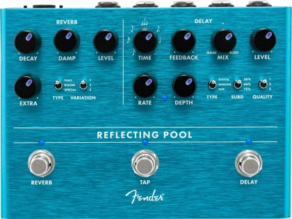 Fender Pedal Efecto Reflecting Pool® Delay & Reverb