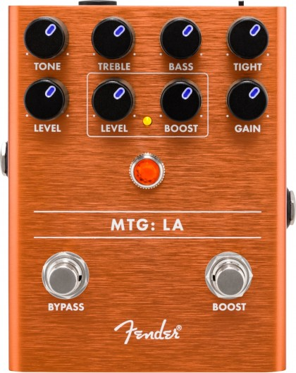 Fender Pedal Efecto MTG:LA® Tube Distortion