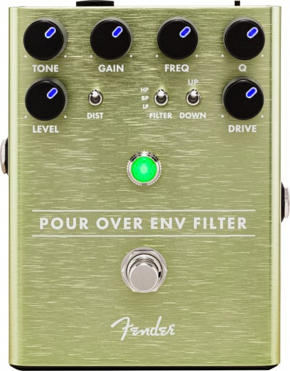Fender Pedal Efecto Pour Over Envelope Filter