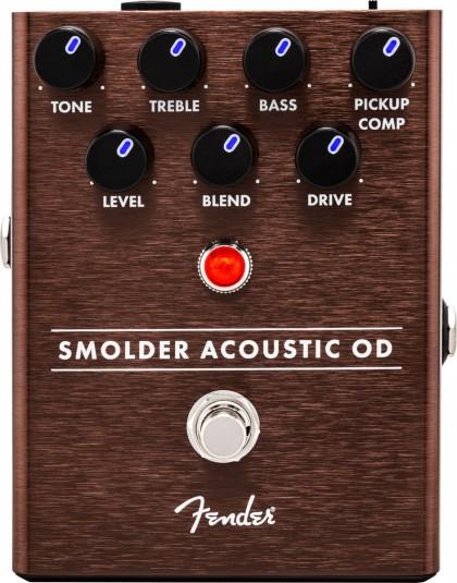 Fender Pedal Efecto Smolder® Acoustic Overdrive