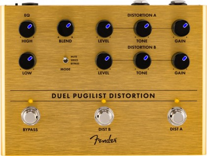Fender Pedal Efecto Duel Pugilist® Distortion