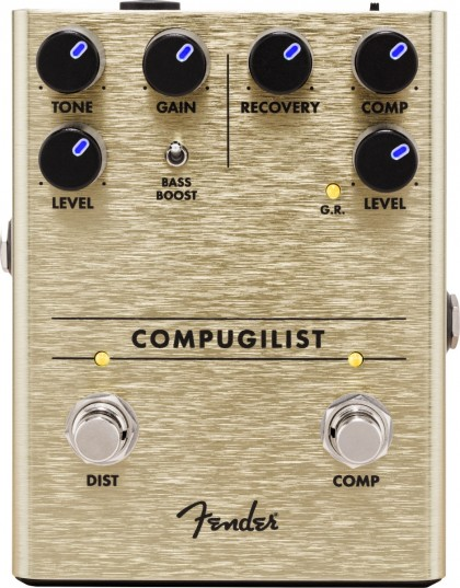 Fender Pedal Efecto Compugilist® Compressor/Distortion