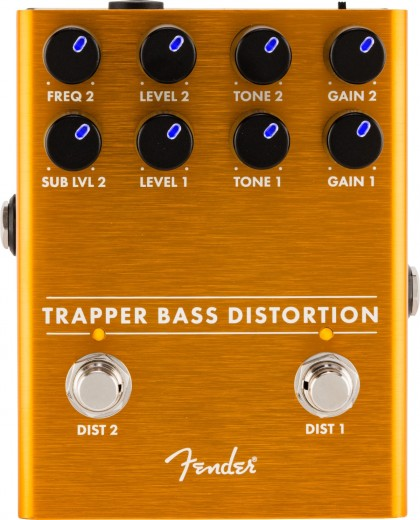 Fender Pedal Efecto Trapper Bass Distortion