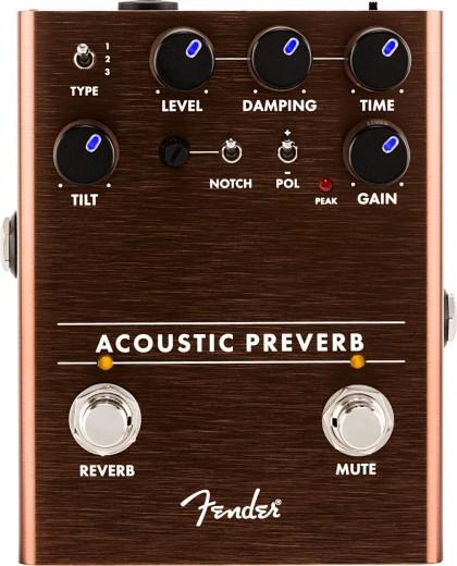 Fender Pedal Efecto Acoustic Preverb