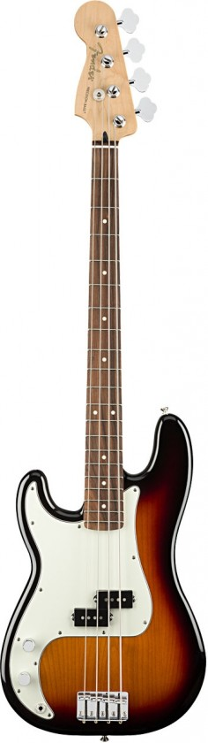 Fender Precision Bass® Player para Zurdos