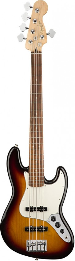 Fender Jazz Bass® V Player (5 Cuerdas)