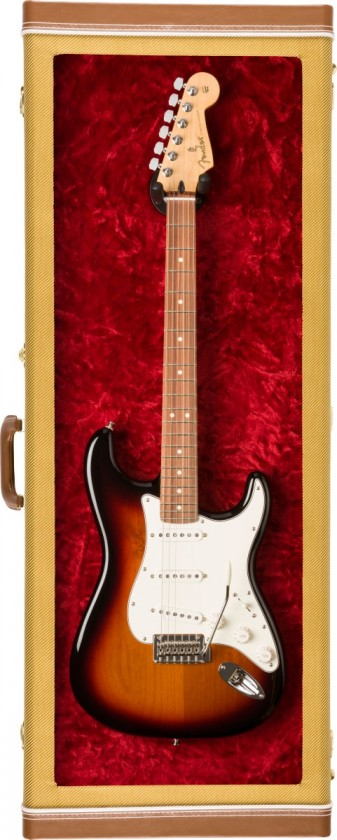 Fender Estuche Display para Guitarra Eléctrica - Tweed