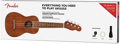 Fender Pack Ukulele Soprano Seaside