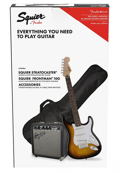 Squier Pack Stratocaster® con Amp Frontman 10G