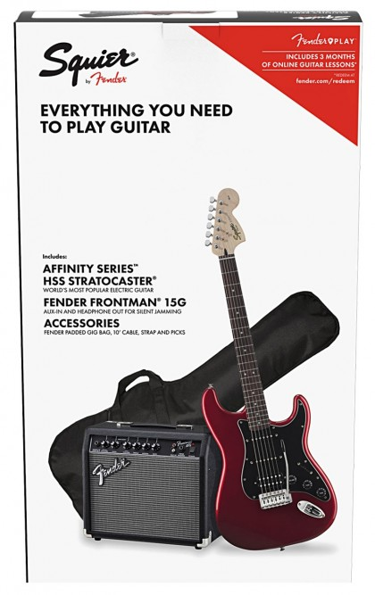 Squier Pack Stratocaster® HSS Affinity