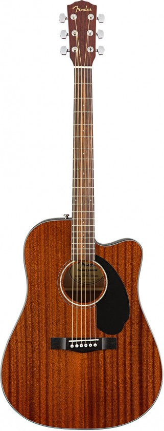 Fender CD-60SCE All Mahogany (Caoba)